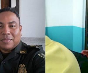 El Intendente Jefe Alfonso Matute Ballestas es uno de los policías fallecidos en el atentado en Canalete.