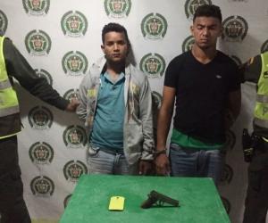 Dairo Alfonso Martínez Serna y Darwin Chirino Navas.