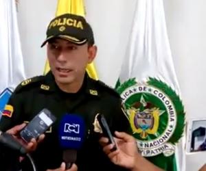 El comandante de la Mesan dio declaraciones sobre la captura.