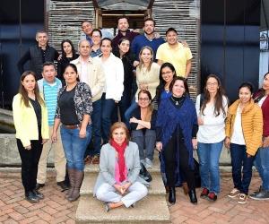 Funcionarios de distintos entes territoriales durante la capacitación en Bogotá