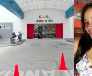 La joven fue trasladada al Camino Universitario Adelita de Char donde falleció mientras era atendida este lunes.