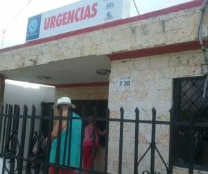 Esta es la sede de urgencias del Puesto de Salud de la Paz.