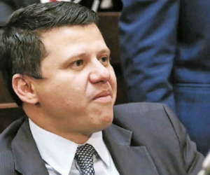 Bernardo 'Ñoño' Elías, senador.