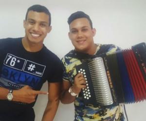 Juancho Fuentes e Iván Crespo la nueva revelación del vallenato.