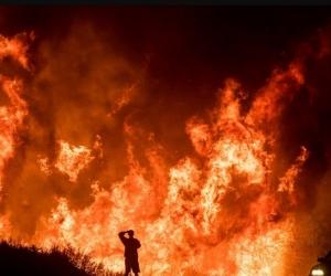 """""""Thomas"""" figura como el fuego más grande registrado en la historia de esa región."""