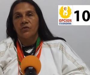 Rosa Margarita Villafaña, candidata a la Cámara por el Magdalena.