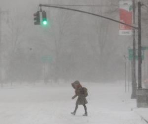 Así se ven las calles de Nueva York.