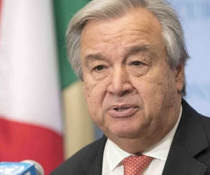 Secretario General de las Naciones Unidas, António Guterres