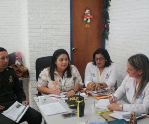 Comité Civil de Convivencia realizado en la Alcaldía Distrital.