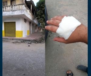 El inmueble de la disputa familiar y la mano herida del sobrino del excontralor Jorge Iglesias.