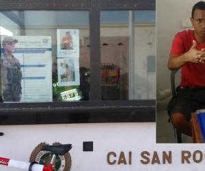 Rodolfo Sánchez Julio y las imágenes en el CAI San Roque.