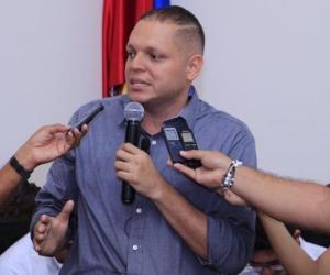 Alcalde de Ciénaga, Edgardo Pérez.