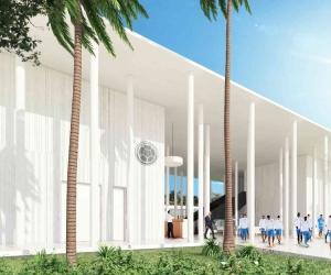 Nueva sede de la selección Colombia en Barranquilla.