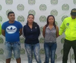 Entre los detenidos se encuentran dos venezolanas.