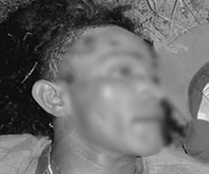 Hombre asesinado por su amigo en Zona Bananera.