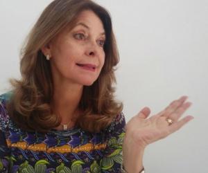 Marta Lucía Ramírez, de visita en Seguimiento.co