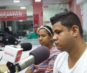 Yuleidys Alejandra Thomas y Eudis Briceño Torres.