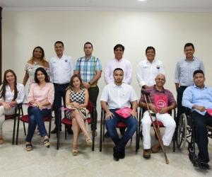 Colaboradores de la Universidad del Magdalena.