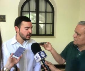 Álvaro Méndez Navarro, secretario general de la Gobernación.