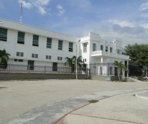 Fachada del hospital San Cristóbal del municipio de Ciénaga.