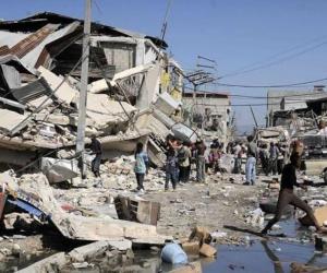 Graves daños materiales causó el terremoto.