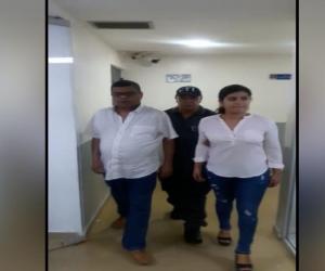 Dairo Amilvio Navarro Pacheco e Isaura María Ferrer Vergara se entregaron en Barranquilla.