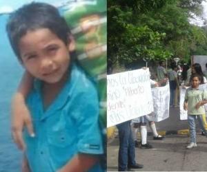 Alberto Cardona Sanguino, menor de seis años, desaparecido en zona rural de Santa Marta.