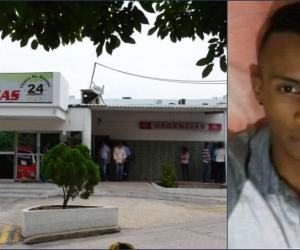 Jassir Antonio Fontalvo Pacheco, uno de los muertos en el ataque sicarial en Soledad.