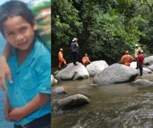 El niño Alberto Cardona Sanguino se encuentra desaparecido desde el 20 de septiembre.