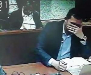 El fiscal lloró en plena audiencia en Paloquemao.