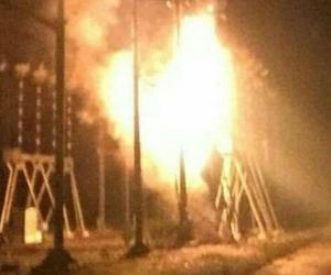 Explosión en central eléctrica