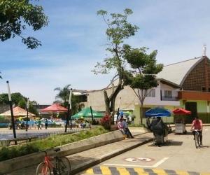 Parque de Vegachí, Antioquia.
