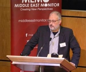 El periodista saudí Jamal Khashoggi,