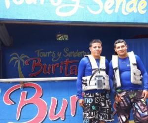 Esta agencia ecoturística en Buritaca es uno de los emprendimientos.