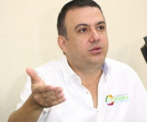 Edwin Besaile, exgobernador de Córdoba.