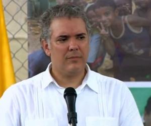 El presidente Iván Duque estuvo en la conmemoración de los 30 años de la tragedia de Machuca.