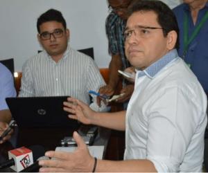 Alcalde Rafael Martínez.