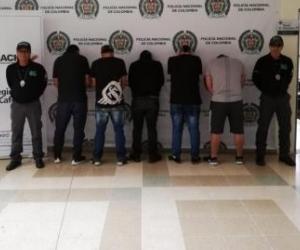 Diez ciudadanos de ese país fueron rescatados y capturaron a seis integrantes del grupo criminal.