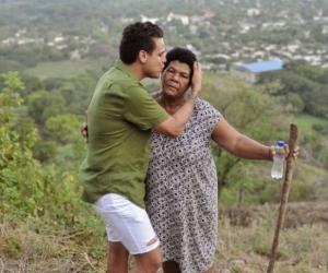 Silvestre Dangond y la señora María Atencio