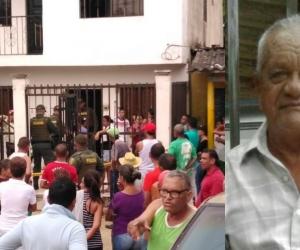 Ascanio Carrillo Cahuana, anciano asesinado en Sabanagrande, Atlántico.