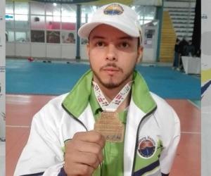 Juan Camilo Guardiola obtuvo medalla de oro.