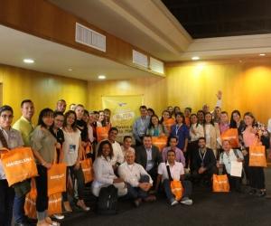 El lanzamiento de la nueva ruta fue realizada por Viva Air, Cotelco y la Gobernación del Magdalena.