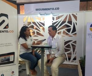 César Riascos, en entrevista con Seguimiento.co