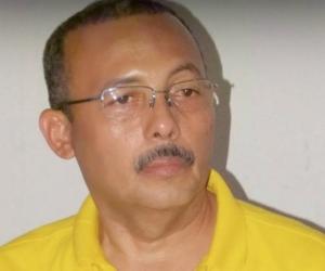 El gobernador de La Guajira, Wilmer González Brito.