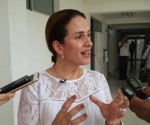 Eva Katherine Carrascal, exsuperintendente delegada de la Supersalud.
