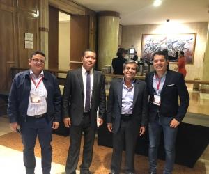 A la ´Maratón de Regalías' asistió el jefe de la oficina de Planeación del Magdalena, Eduardo Arteta.