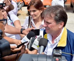 Declaraciones de Eduardo González, director nacional de Gestión del Riesgo.