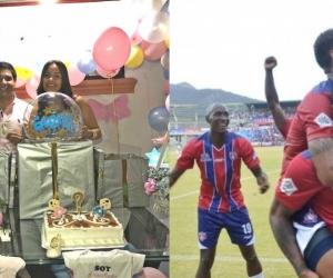 Jorge Rincón, logró más de 1 mil 500 retuits, para que su hijo tuviera como segundo nombre, el de quien anote el gol del ascenso del Unión.