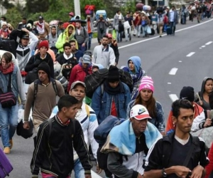venezolanos el deseo de migrar.