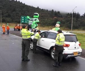 Las autoridades realizaron controles en las vías del país.
